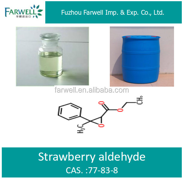 Farwell food flavor Strawberry aldehyde CAS 77-83-8