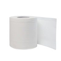 Full Embossed Eco friendly Non-toxic Bamboo Pulp Toilet Paper Tissue Paper