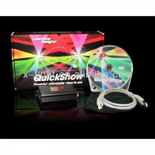 Pangolin Quickshow laser light software/diy laser light show /laser show control software