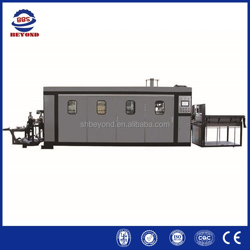 Full automatic EPS tray vacuum forming machine