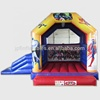 superheros inflatable batman jumping castle with slide for kids