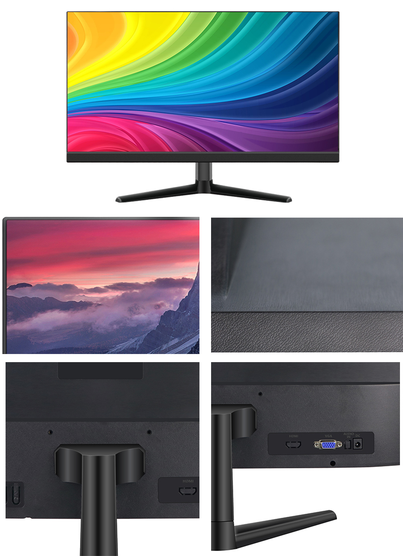 High quality wide screen 1920*1080 24 inch LED computer monitor