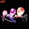 Wholesale blown glass balloons with led light for decoration