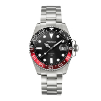 Custom 10atm water resistant 316l stainless steel luxury diver watch automatic oem for sale