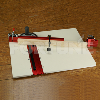 table saw accessories miter sled fence system