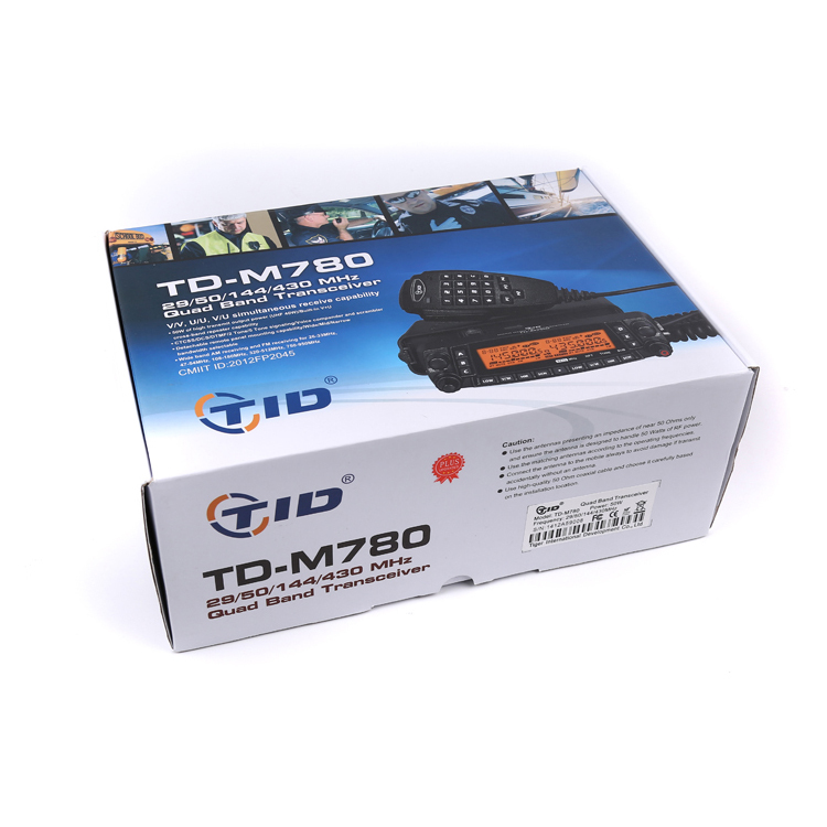 Td-m780 Mobil Radio Quad Band 50W Kuat Transceiver Repeater Ponsel Kendaraan Radio