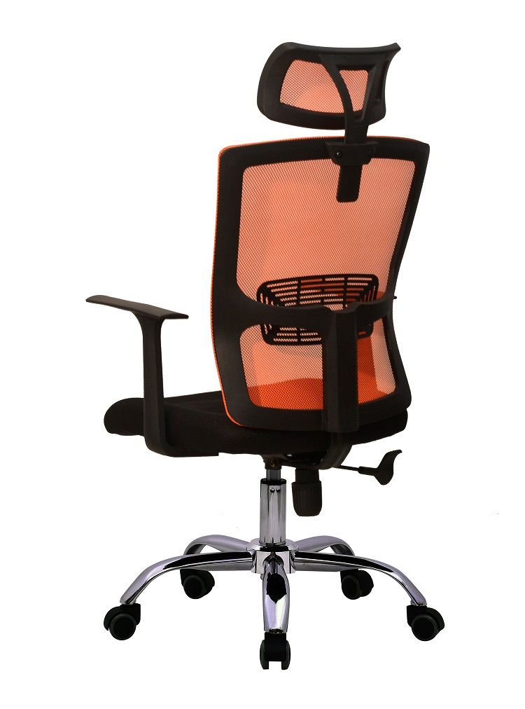 D37 Amazon hot sale workwell comfortable mesh office chair with headrest