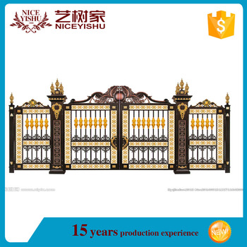 Best selling decorative driveway gates sliding main gate for Latest main gate designs
