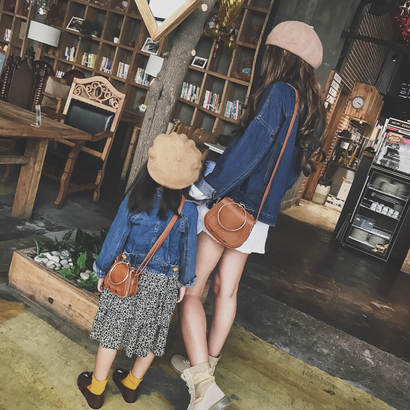 Women Leather School Shoulder Bag Women Girl Fancy Walking Chain Shoulder Bags