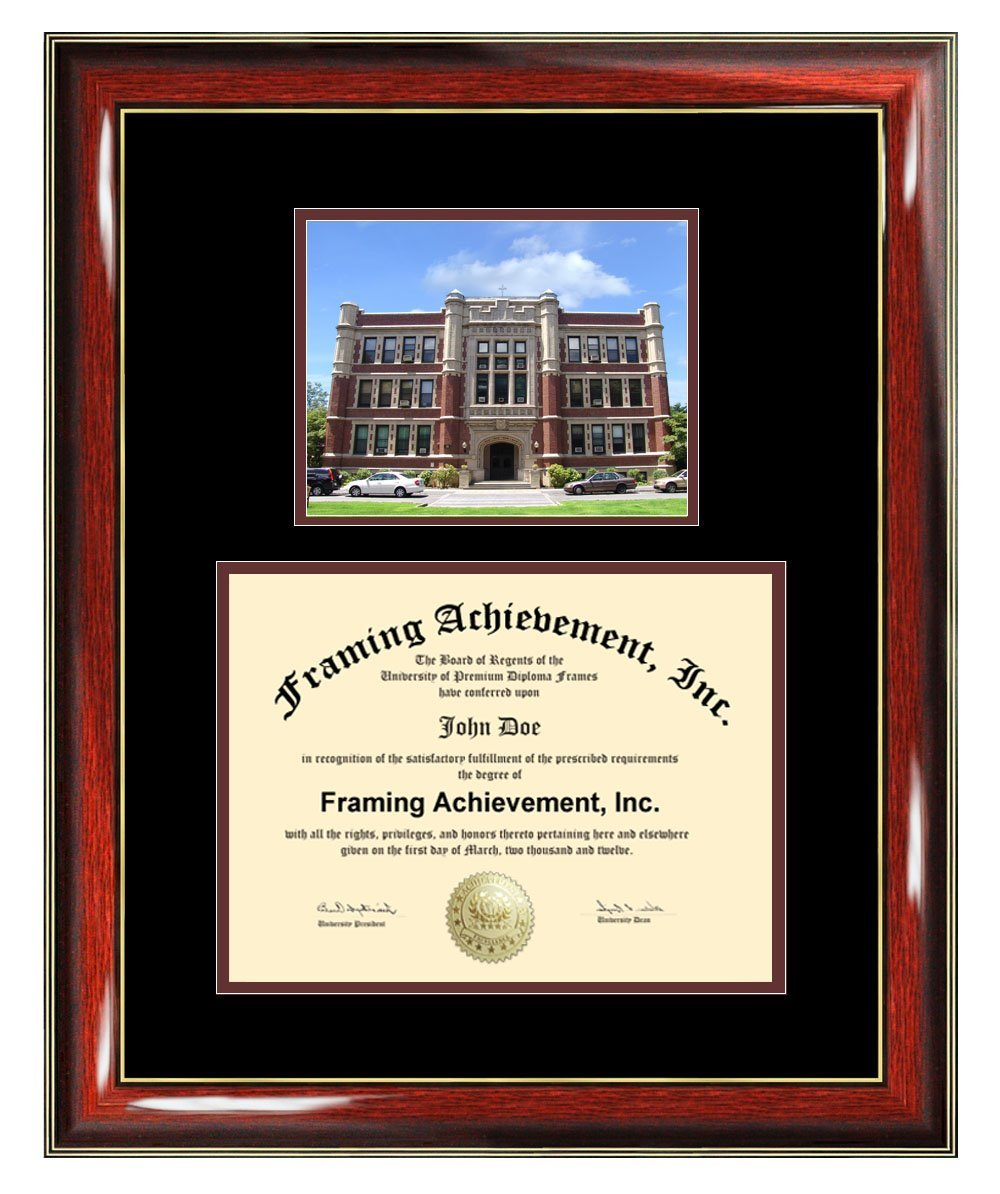 Concordia College New York Diploma Frame - Concordia Graduation Degree Frame - Matted Campus College Photo Graduation Certificate Plaque University Frames Framing Graduate Gift Collegiate