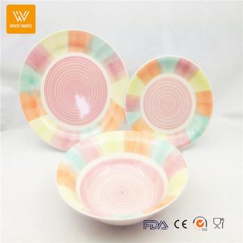 finer procelain ceramic round glaze dinner set with blank/ creative tableware italian  sc 1 st  Alibaba & Finer Procelain Ceramic Round Glaze Dinner Set With Blank/ Creative ...