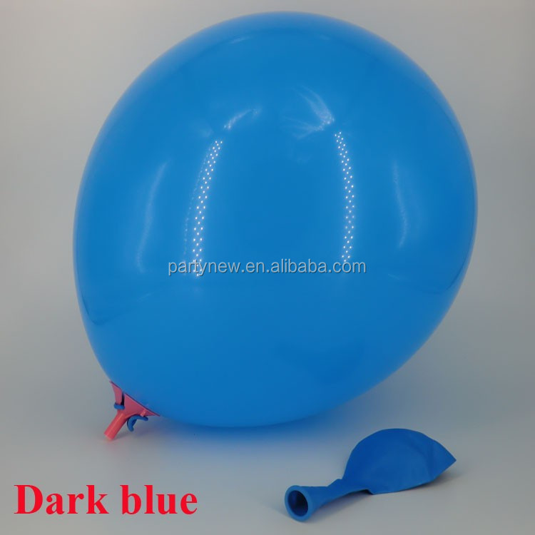 12inch 2.8G Standard Latex Balloon factory Wholesale rubber balloon Light blue
