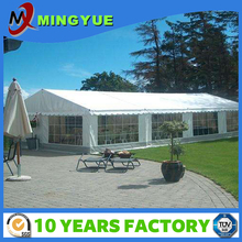 Customized White PVC steel frame event tent geodesic tent for 350 people wedding event tent