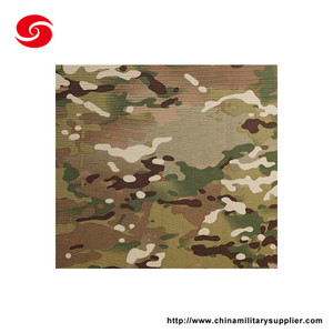 High Quality CVC 50/50 CP Camouflage Military Multicam Fabric For Uniform