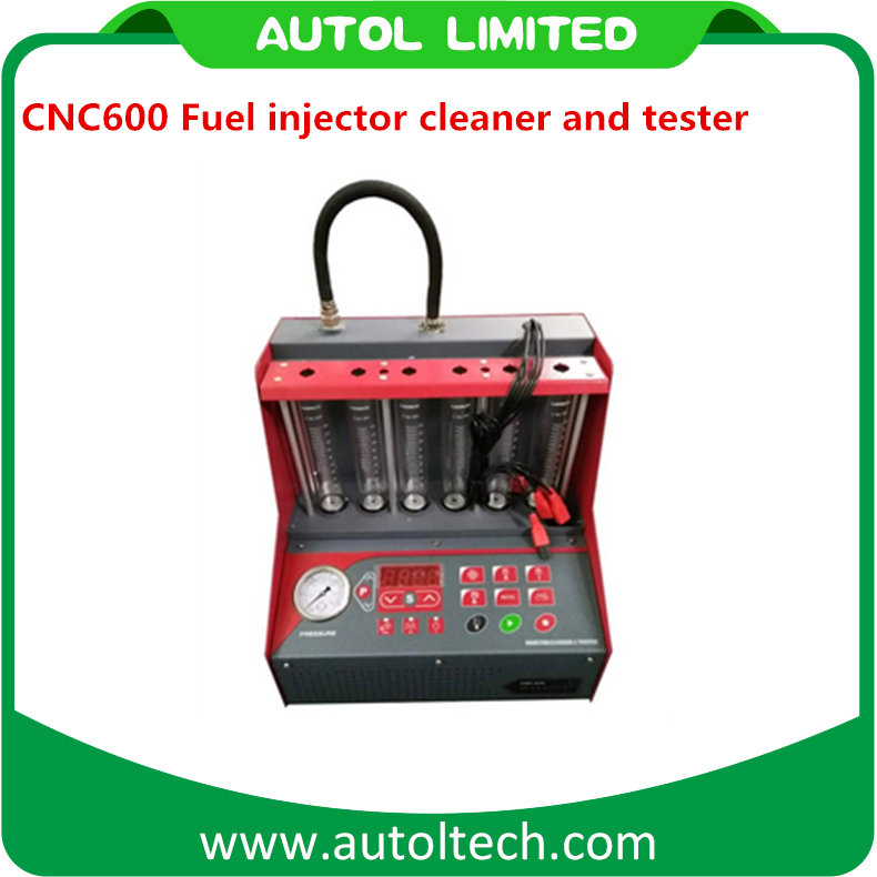 Standard Maintenance and cleaning Tool CNC600 Fuel injector cleaner and tester to Perform fuel supply system on vehicle