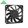 waterproof IP68 12v 60x60x10mm 60mm cooling fan for vending machine and server cabinet