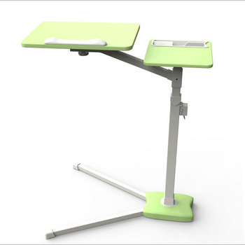 Angle Height Adjustable Height Stand Laptop Desk Over Bed Hospital Table  Stand