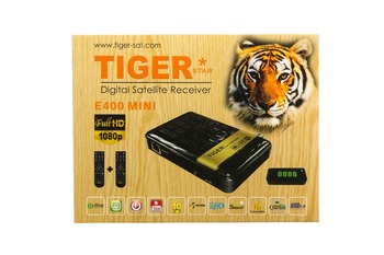 Tiger E400MINi Iptv Set Top Box support one year L7 for free