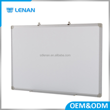 Custom made 100*70 cm board china aluminum alloy frame ABS corners magic whiteboard for school meeting room