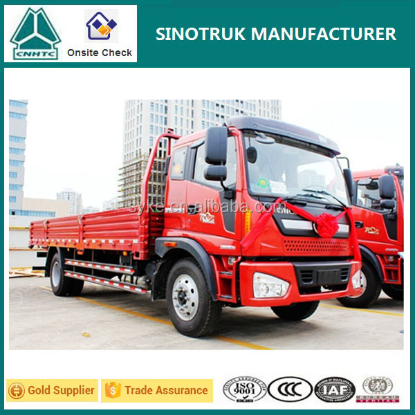 Small Dimensions Foton 2 Ton Light Cargo Truck for Sale