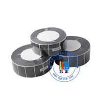 UPC Asset tracking PET silver QR codes thermal printing label sticker