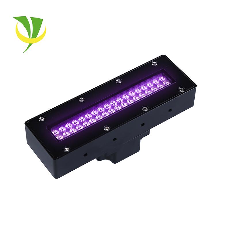 High intensity 365nm uv led curing lamp uv coating machine offset uv led printer price