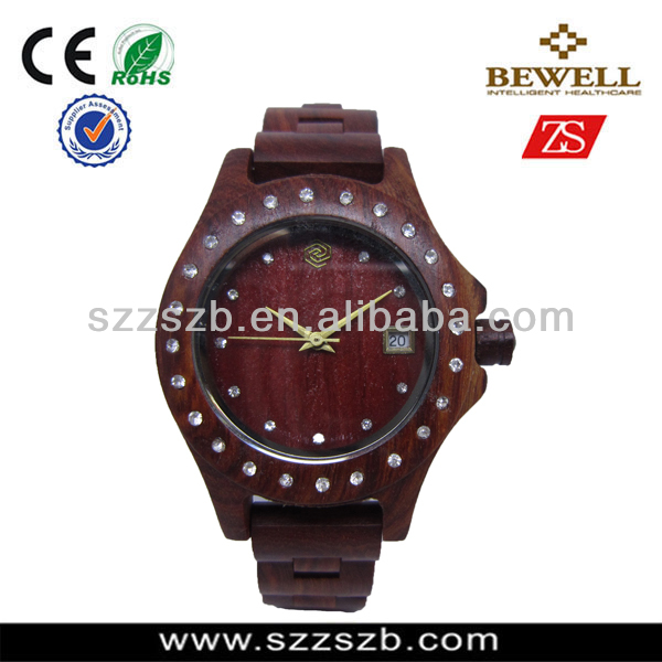 custom LOGO ladies wooden watch eco-friendly natural wood watches