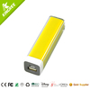 smallest portable charger power bank lipstick 2600mah