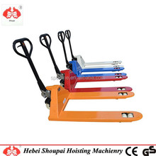 1000kg CE certification manual hydraulic hand pallet truck