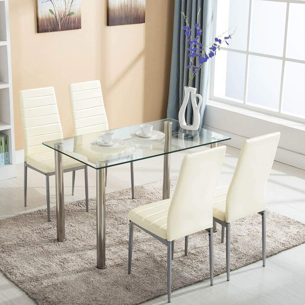 Small Dining Table Set For 4, Cheap Small Glass Table And Chairs Find Small Glass Table And Chairs Deals On Line At Alibaba Com