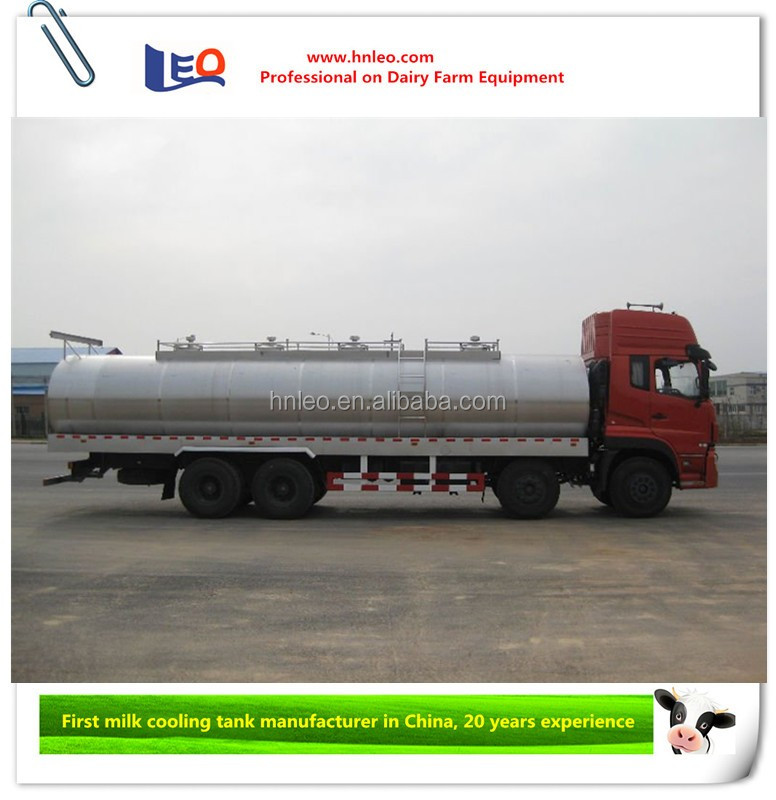 Insulation Stainless Steel Milk Cooling Tanker Iso9001