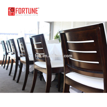 5 Star Hotel Wood Furniture Dining Tables And Chairs High End Restaurant Fohc
