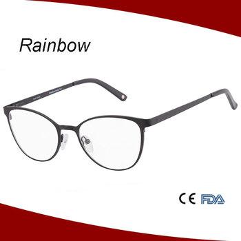 Trendy Glasses Frames For Women,Metal Optical Glasses Frame - Buy ...