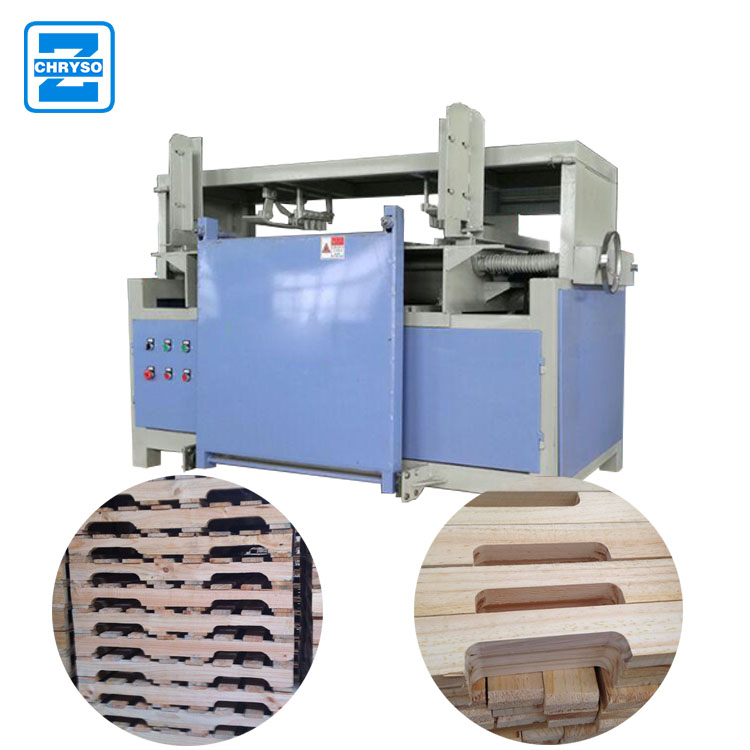 China manufacturing best price stringer pallet making machine Wood Pallet Notcher