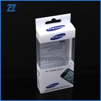 Newly eco-friendly foldable plastic iphone lcd packaging box