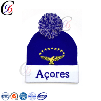 Chengxing Knitted Toque Sports Warm Pattern Cheap Top Quality Custom