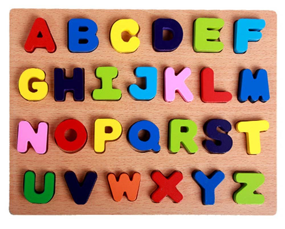 Buy 26 Letters ABC Alphabet Puzzle Toys, OMGOD Non-toxic Finishes