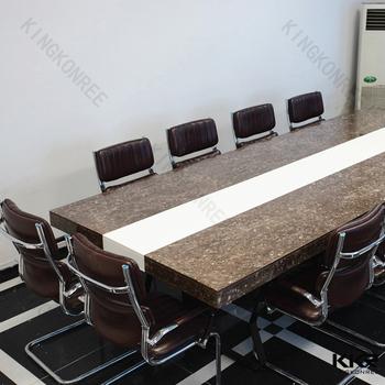 Marble Stone Meeting Table Quartz Office Desk Top Buy