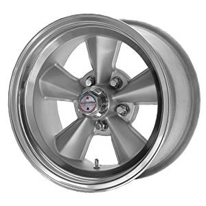American Racing Custom Wheels VNT70R Gunmetal Wheel With Polished Lip (17x9/5x114.3mm, 0mm offset) by American Racing