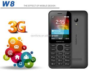 Hot Sale 2.4 inch Cheap Factory Price High Quality new Unlocked GPS Bluetooth 3G Mobile Phone