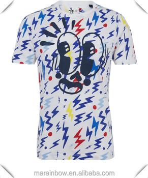 All over shirt printing full color shirts sublimation for Sublimation t shirt printing companies