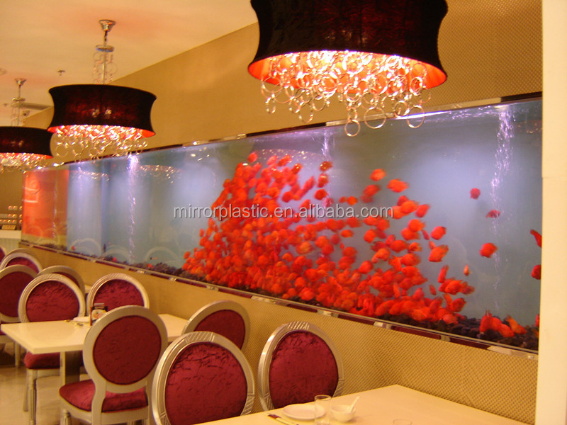 Acrylic Import Export Ornamental Fish Tank