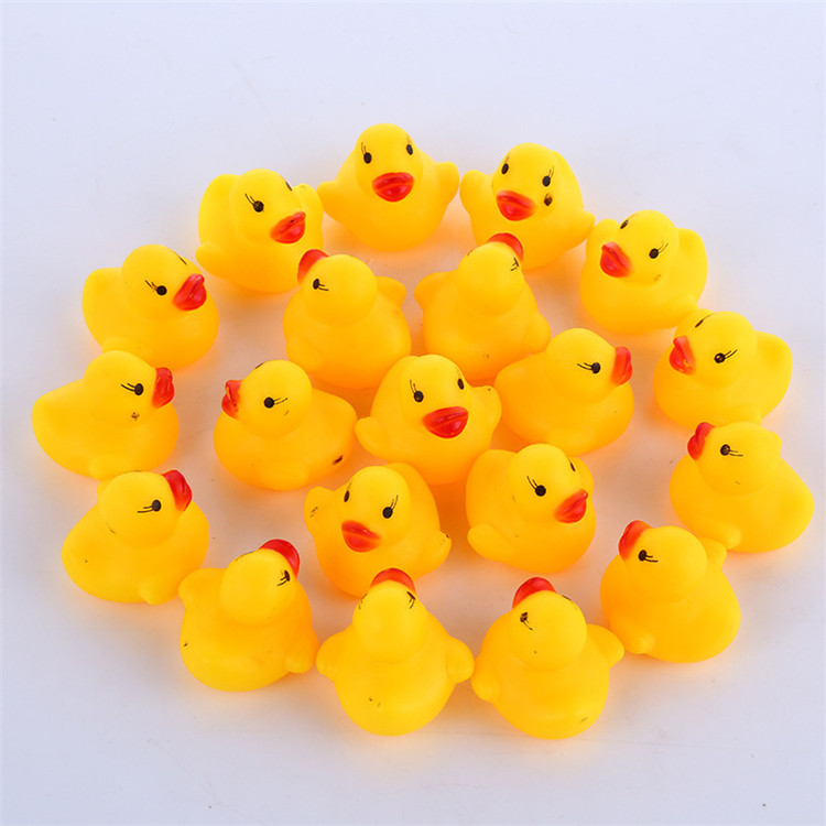 Hot Sale Bath Toys Plastic Promotional Gifts Rubber Duck