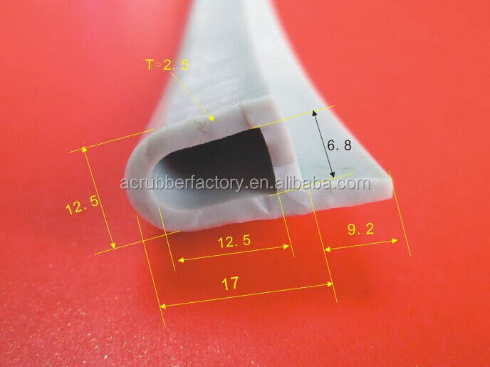 thin rubber strips extruded rubber strip factory trade assurance waterproof rubber seal strip