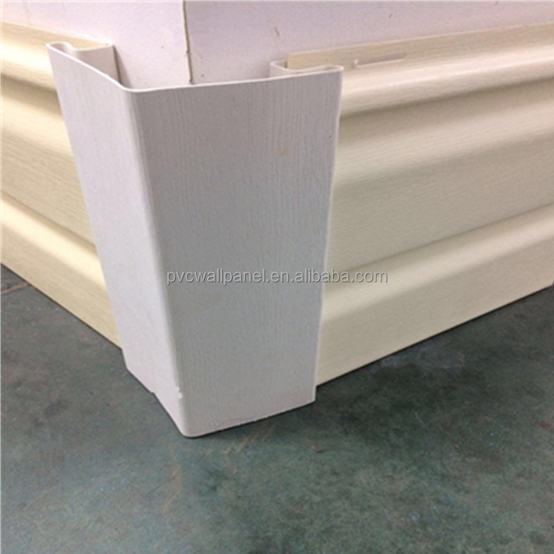 Color lasting easy to clean material restaurant kitchen walls external cladding plastic siding