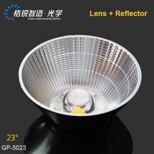 Lighting accessories COB reflector for spotlight GP-5023 50mm 23 degree led lamp parts