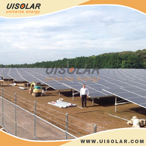 Off grid solar power plant , 5 mw solar mounting system