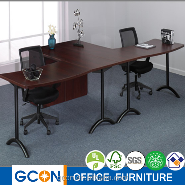 glass top office table singapore new design wooden with modern