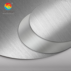 Manufacture Inox 201 Stainless Steel Circle SS Sheet Plate Circle for Kitchenware