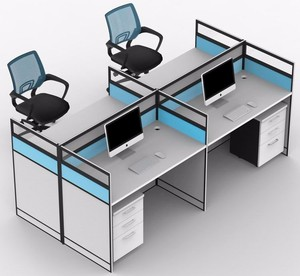 modular office workstation for 4 people 301-20-4Sa hp workstation partitions